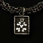 Canine Coat of Arms Triple Necklace