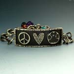 Paws for Peace Bracelet