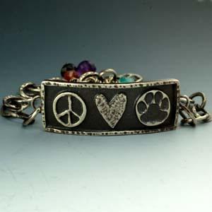 Framed ID Style Bracelets
