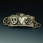 Paws for Peace Id Bracelet