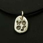 Canine Karma Woof Necklace - Large