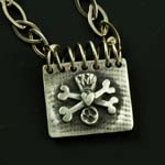 Canine Coat of Arms Locket