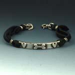 Bone & Heart Bracelet