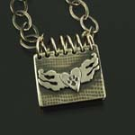 Spiral Notebook Memorial Locket