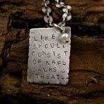 Life Should Consist of...